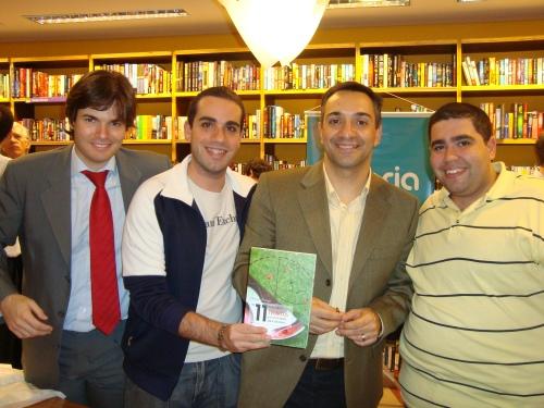 Maurício Noriega com o Trio.