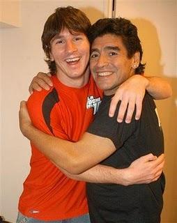 Juntos, os 2 maiores jogadores da história do Futebol Argentino